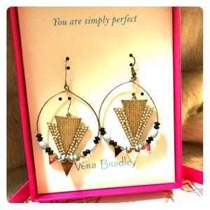🌺 Vera Bradley Two Pair Earring Set 🌺